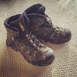 modern_day_mountain_manMeet the boots that'll be carrying me 2,200 miles. #AppalachianTrail2016 #whiteblazer #thruhiker #yearofadventure #exploring #backpacking #optoutside