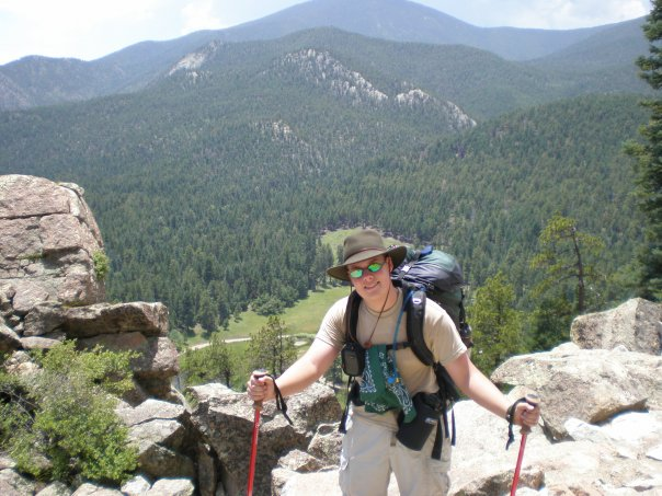 In Philmont Scout Ranch in New Mexico - 2007 http://www.philmontscoutranch.org