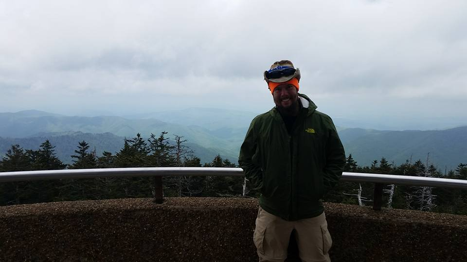 At Clingmans Dome, Smoky Mountains.