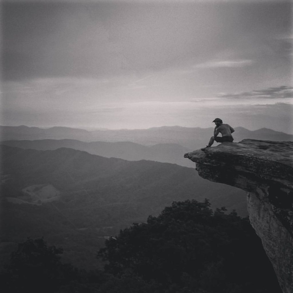 """Our truest life is when we are in dreams awake."" - Thoreau  #AppalachianTrail2016 #yearofadventure #whiteblazers #livefree #optoutside #mountains #nature #scenery #ontheedge — at McAfee's Knob."